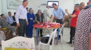 لجنة الشؤون الاجتماعية بفضاء النسيج الجمعوي تقوم بعملية توزيع ملابس العيد لفائدة نزلاء دور المسنين بعمالات : بركان، الناظور، جرسيف وتاوريرت