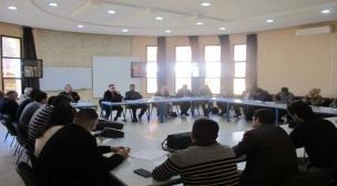 لجنة التكوين وتقوية القدرات بفضاء النسيج الجمعوي:لقاء تواصلي مع جمعيات المجتمع المدني