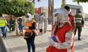 حملات تحسيسية و توعوية للوقاية من وباء كوفيد 19